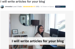 Best article writer for your blog