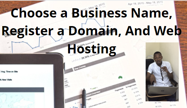 Choosing Your Domain Name and Site Name for Online Business